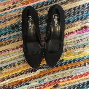 Candies NEW Black Heels Size 10 MED
